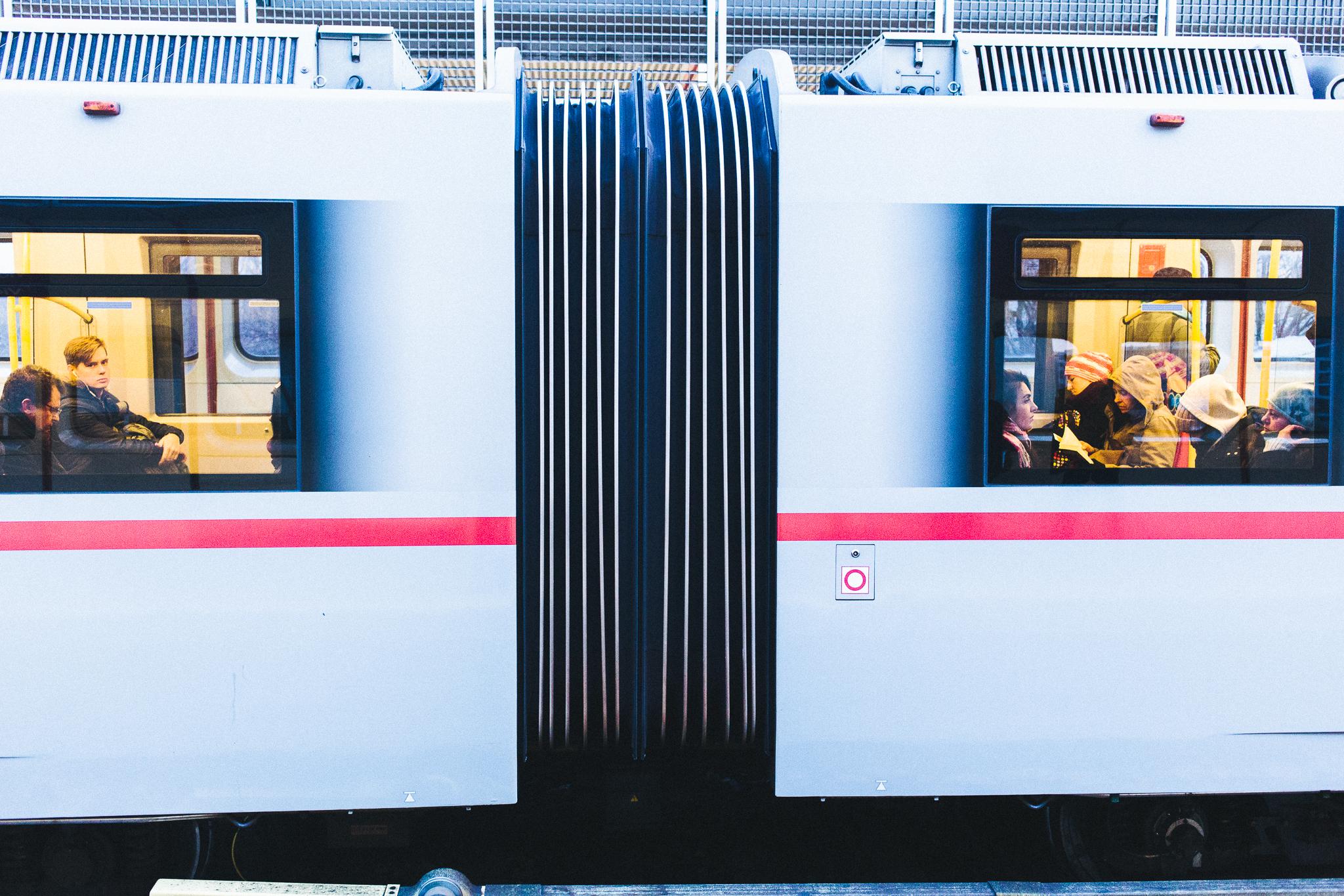 Wienin metro toimii kuin junan vessa