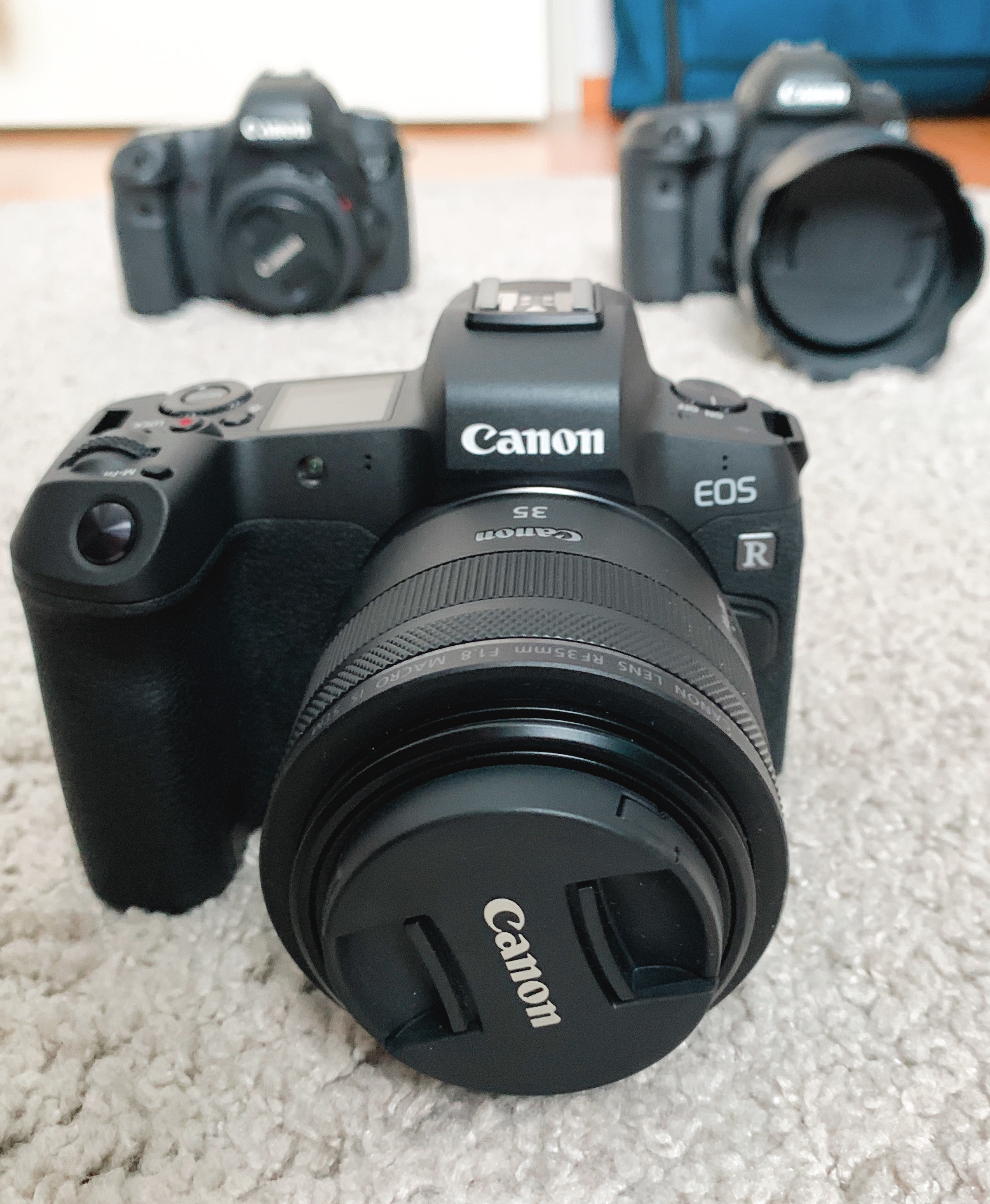 Canon EOS R - Ensiräpsyjä